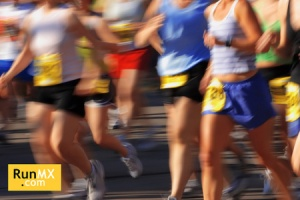 Marathon (in camera motion blur)